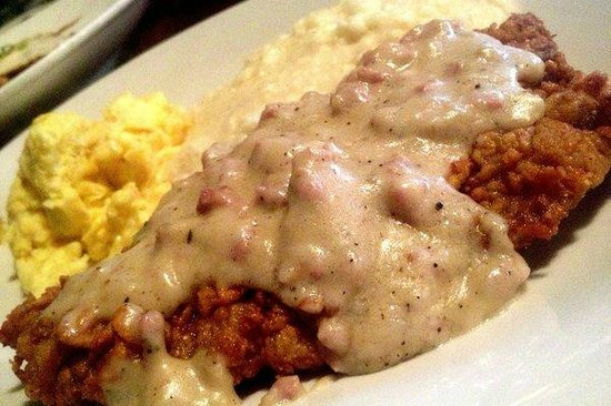 Biscuits & Gravy - Picture of Tuscan Grill, Navarre - TripAdvisor