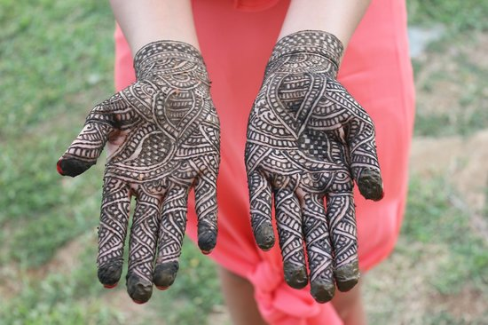 Bridal Mehndi Rates In : Bridal mehndi for feet picture of mystic india