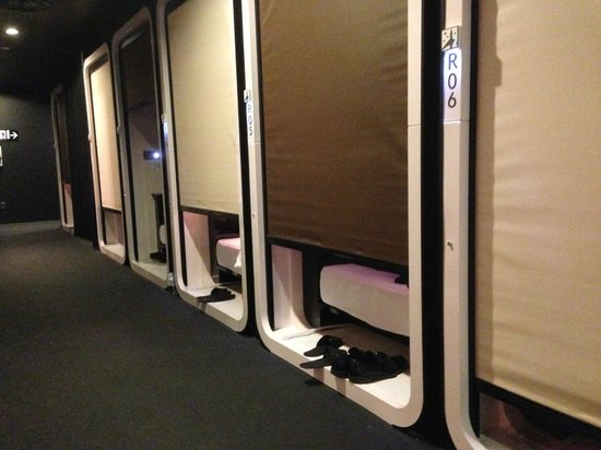 Capsules 1 for First cabin haneda
