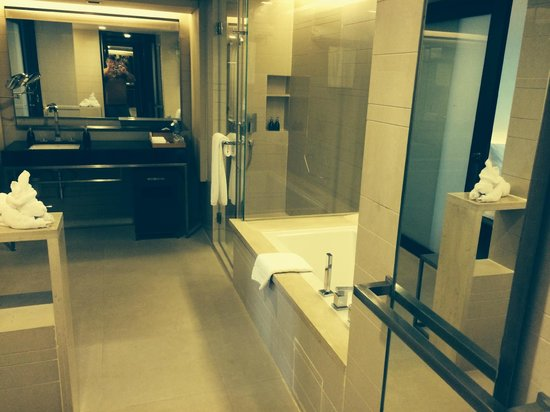 Pathumwan Princess Hotel: Bathroom