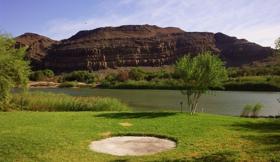 Canoeing on the river formerly known as orange river - picture of