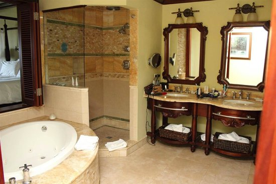 Sandals Royal Caribbean Resort and Private Island: Our bathroom