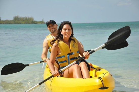 Sandals Royal Caribbean Resort and Private Island: kayaking
