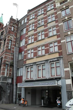 Um sonho de hotel picture of hampshire hotel eden for Eden hotel amsterdam