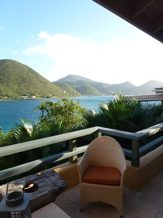 Frenchmans: view from our villa