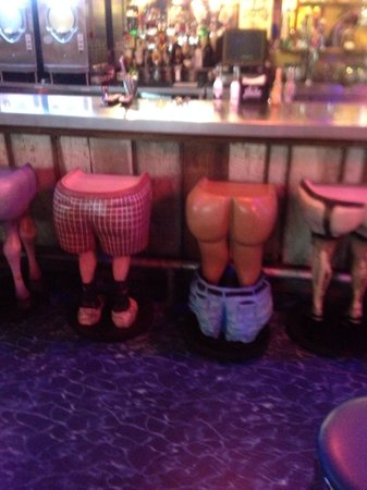 Awesome Bar Stools Picture Of Loco Burro Gatlinburg