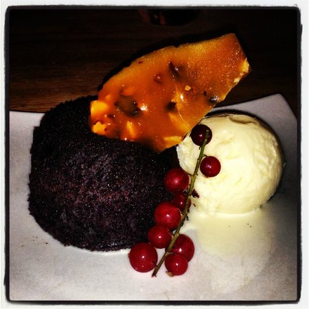 Coffee Bay CHOCOLATE Mud pie - Picture of Amanzi, Falmouth ...