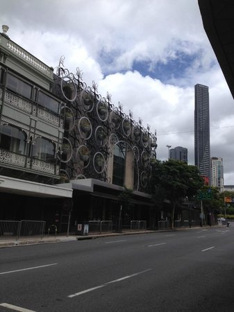 fortitude valley cloudland nightclub with meriton tower. Black Bedroom Furniture Sets. Home Design Ideas