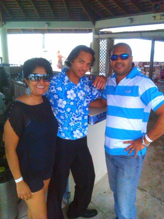 Turtle Beach by Rex Resorts: Our favourite bartender in the world!  Raul Rosario...