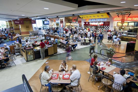 Asheville Mall Food Court Picture Of Asheville Mall