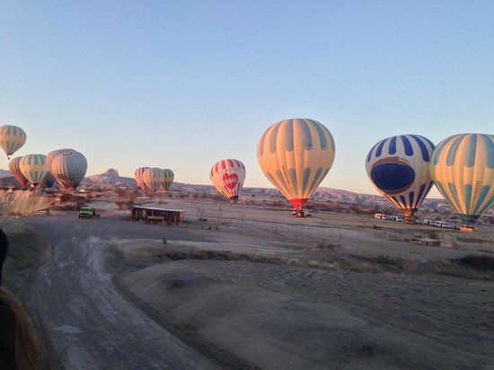 Ballons View - Picture of Royal Balloon - Cappadocia ...