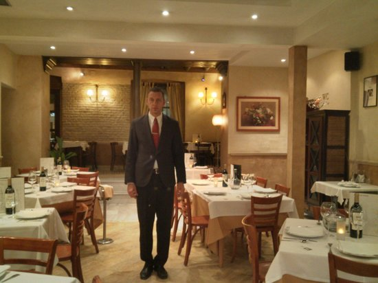 The Manager Carlos in the Dining Room of Altamira