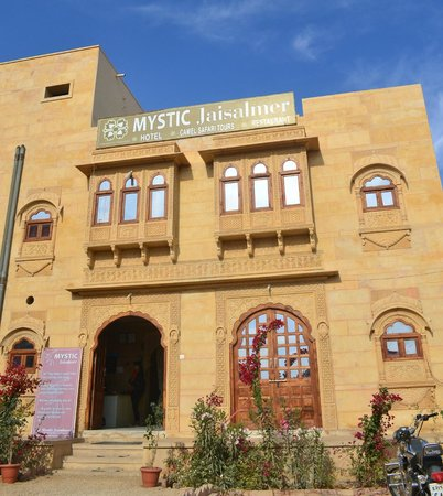 Mystic Jaisalmer Hotel: Entrance of hotel