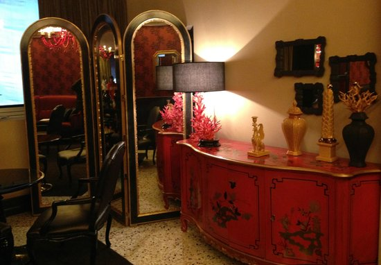 Sala picture of g boutique hotel vicenza tripadvisor for Boutique hotel vicenza