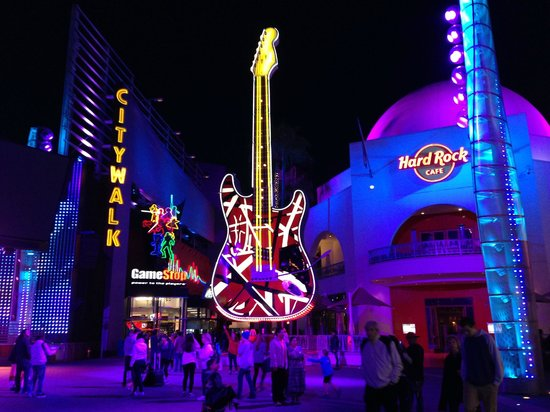 Citwalk Hard Rock Cafe Picture Of Universal Citywalk
