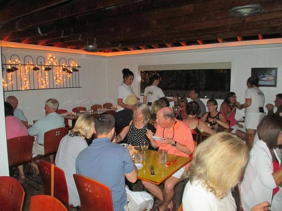 Interior view picture of seven fish key west tripadvisor for Seven fish key west fl