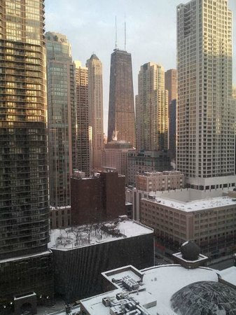 Nice View Picture Of Hilton Garden Inn Chicago Downtown Magnificent Mile Chicago Tripadvisor