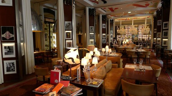 Restaurant opulence picture of le royal monceau raffles for Restaurant le jardin royal monceau