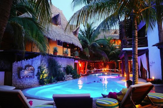 Pool picture of holbox hotel casa las tortugas petit - Holbox hotel casa las tortugas ...