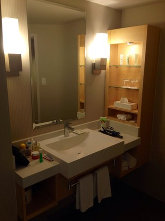 salle de bain r nov e picture of delta montreal hotel. Black Bedroom Furniture Sets. Home Design Ideas