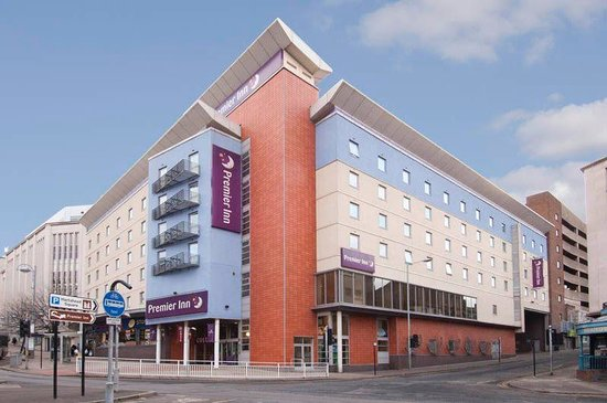 Premier Inn Sheffield City Centre Angel St