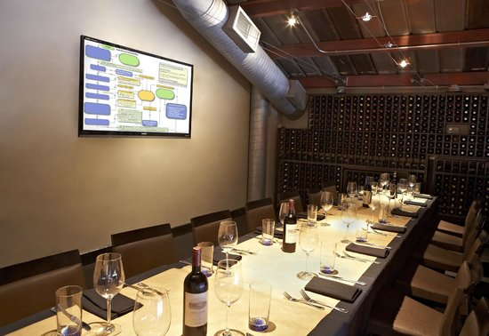 Private dining room picture of sotto sotto atlanta for Best private dining rooms honolulu