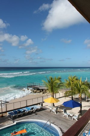 St. Lawrence Beach Condominiums: View from balcony