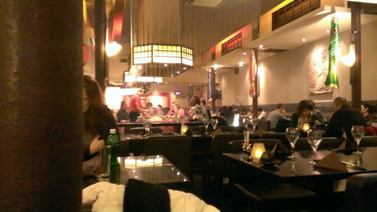 the teppan yaki end picture of kabuki brussels tripadvisor. Black Bedroom Furniture Sets. Home Design Ideas