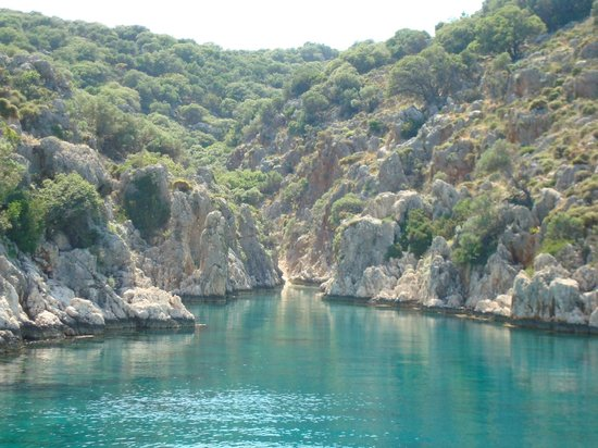 kas daily boat trip to kekova - Picture of Kas Daily Boat Tours with Bermuda,...