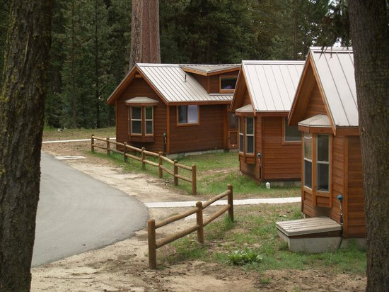 Camping in the rv campground picture of ponderosa state for Ponderosa cabins california