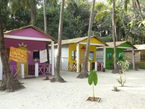 Colorful cottages picture of coconut grove eco friendly for Eco friendly cottages