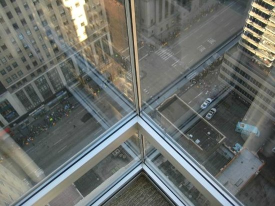 A view of 6th ave from our corner room picture of - Hilton garden inn west 35th street ...