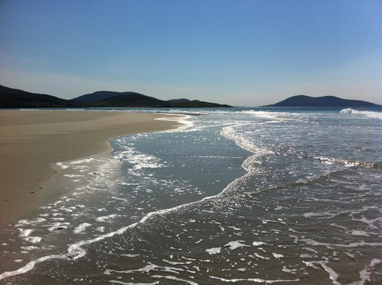 Isle of Harris, UK: Luskentyre - (currently) free of people and (currently) clean ...