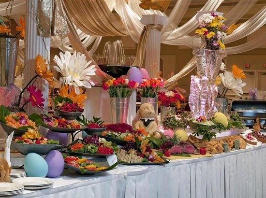 Easter Holiday Buffet Picture Of Rosen Plaza Hotel