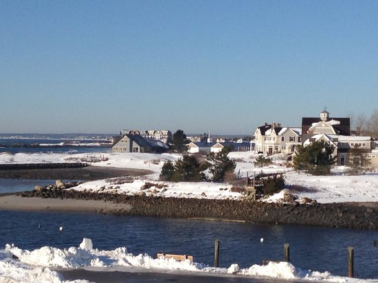 The Breakwater Inn and Spa: View from our room