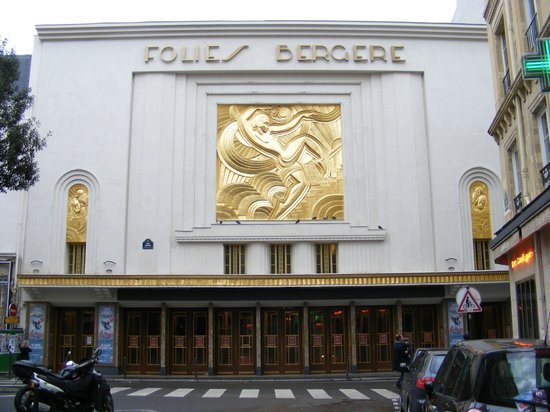 Folies Bergere Paris France Address Phone Number