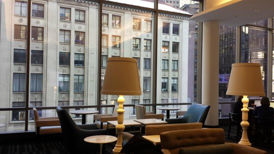 Exquisite lounge picture of courtyard new york manhattan for Terrace 54 1717 broadway