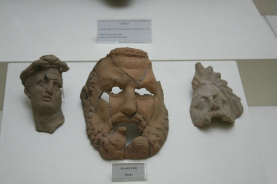Masque - Picture of Sinop Archaeology Museum, Sinop ...