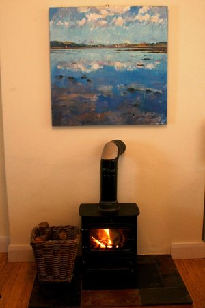Kintyre Cottages: Archie's Farmhouse wood burning stove