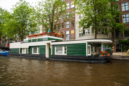 The Amstel: view from the boat 2