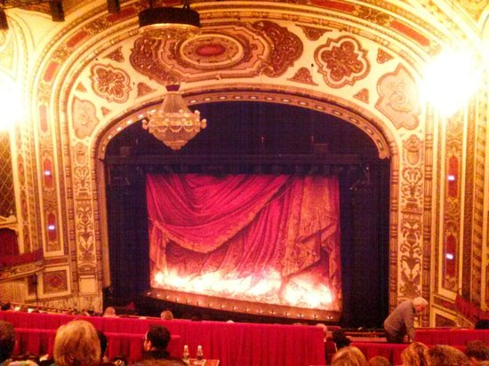stage picture of cadillac palace theatre chicago tripadvisor. Cars Review. Best American Auto & Cars Review