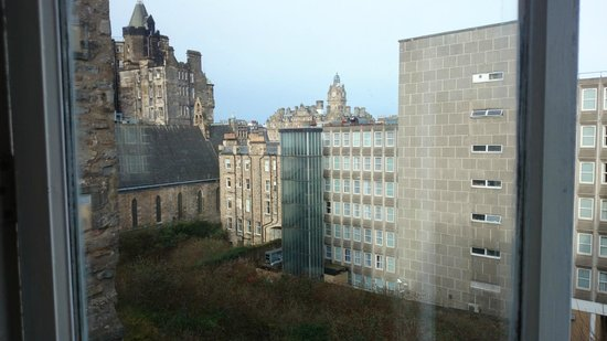 Brodie's Hostel: View from the double/en-suite