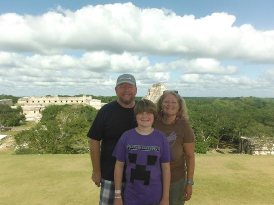 Cascadas de Merida: Our trip to Uxmal per Ellyne's recommendation-A Must see!