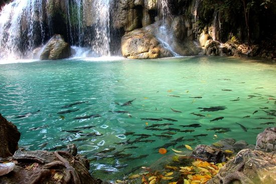 Erawan Falls - Picture of Erawan Falls, Erawan National ...