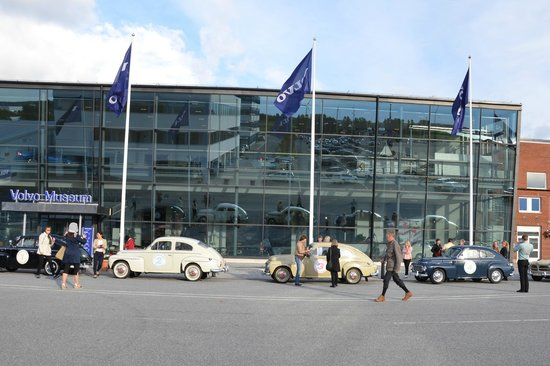 Outside the Volvo museum - Picture of Time Travel Sightseeing Goteborg, Gothenburg - TripAdvisor