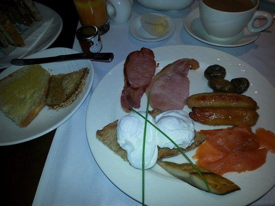 Conrad Dublin: Best breakfast I have eaten