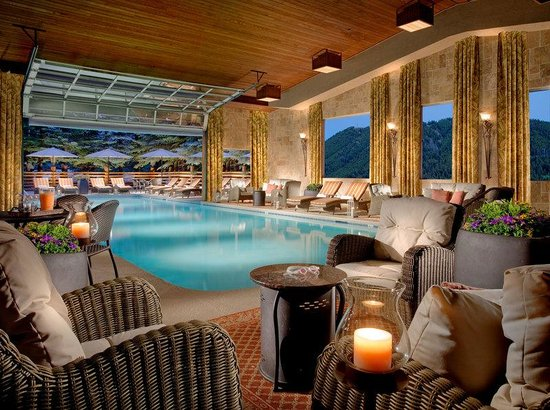 Indoor outdoor pool picture of the lodge at jackson hole jackson tripadvisor for 2 bedroom suites in jackson hole wy