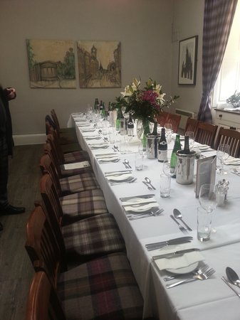 301 moved permanently for Best private dining rooms edinburgh