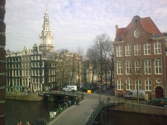 View From Radisson Blu Amsterdam