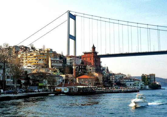 The Fatih Sultan Bridge and Haunted Mansion - Picture of ...